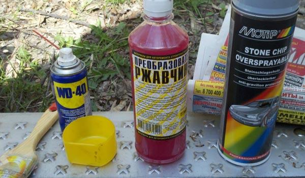 Чем отмыть краску с автомобиля - советы и рекомендации
